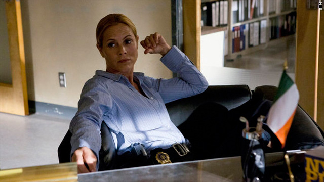 Maria Bello is 'not in the mood' on 'Prime Suspect'