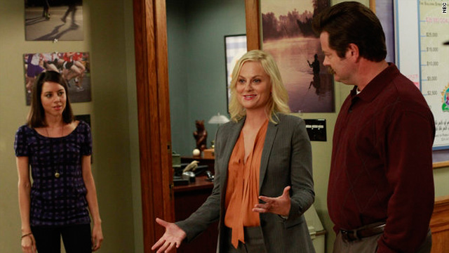 Hitting the campaign trail on 'Parks and Rec'