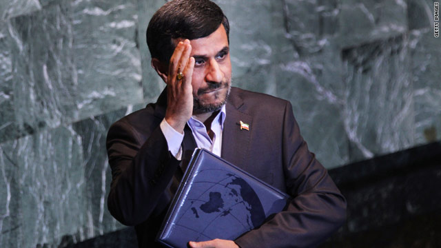 BLITZER'S BLOG: My chance to chat with Iranian Pres. Ahmadinejad