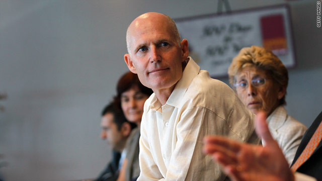Gov. Rick Scott meets with Florida protesters on 'stand your ground'