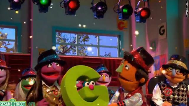'Glee' comes to 'Sesame Street'