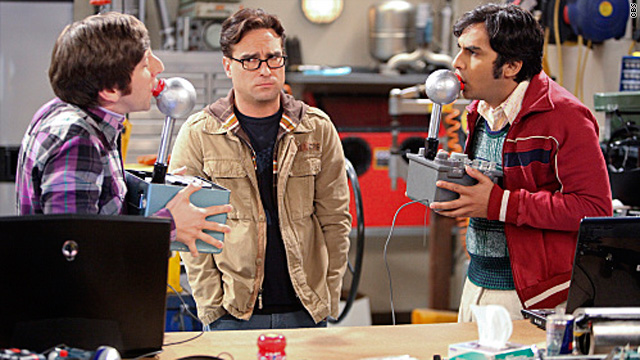 The morning after on 'The Big Bang Theory'