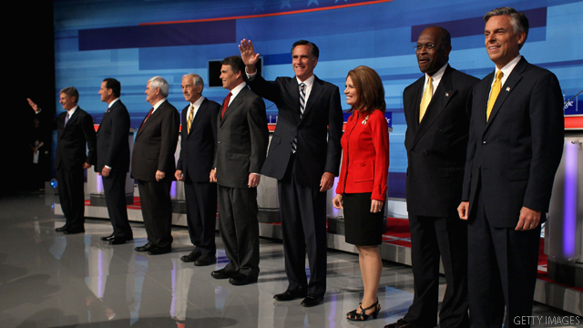 2012 field reacts to Christie non-starter