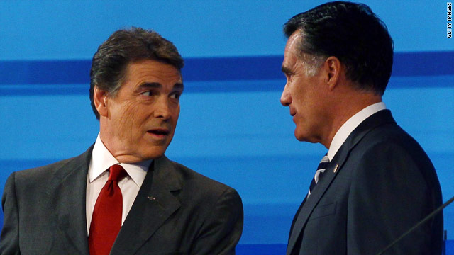 Perry to venture into Romney territory