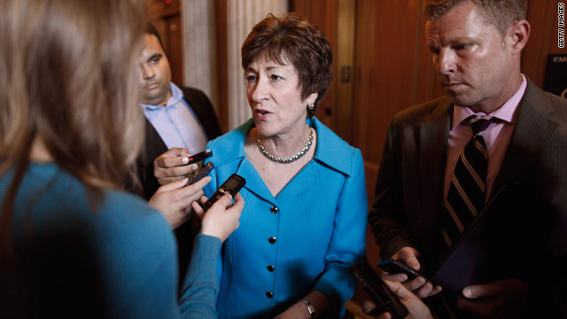Report: Republican Sen. Collins will support Manchin-Toomey gun compromise