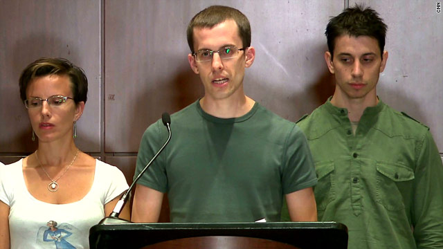 Released hikers describe ordeal in Iran