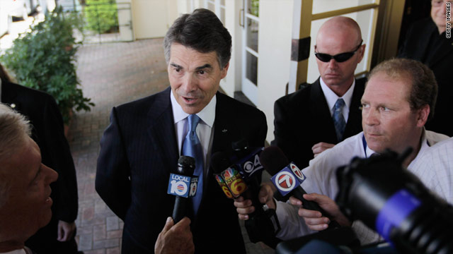 Perry dials back 'heartless' comment