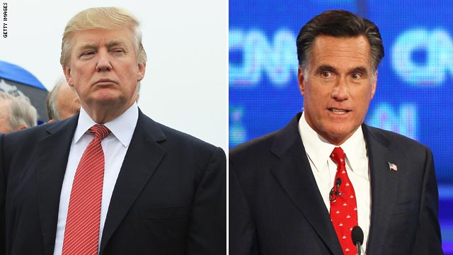 Trump praises Romney, blasts DNC ad