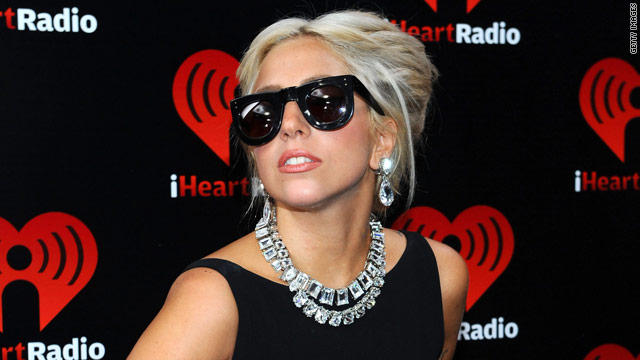 Lady Gaga attends Obama political event