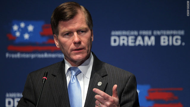 Virginia Gov. Bob McDonnell backs Romney