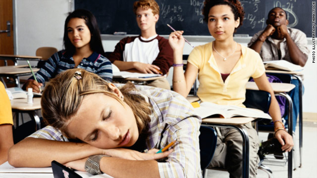 Sleep-deprived teens take more risks