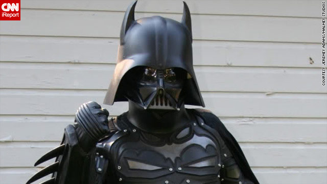 'The Darth Knight' takes the cosplay world by storm