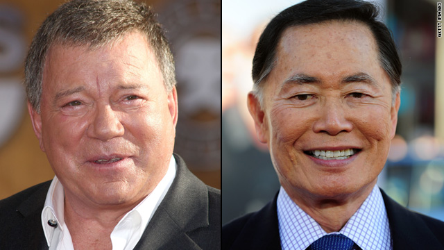 Shatner/Takei feud continues in new book