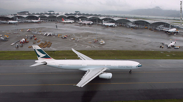 Report: Jetliners within six seconds of collision over Hong Kong
