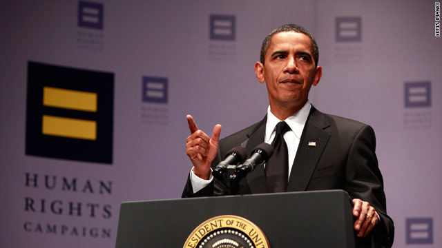 Obama to headline key gay rights dinner