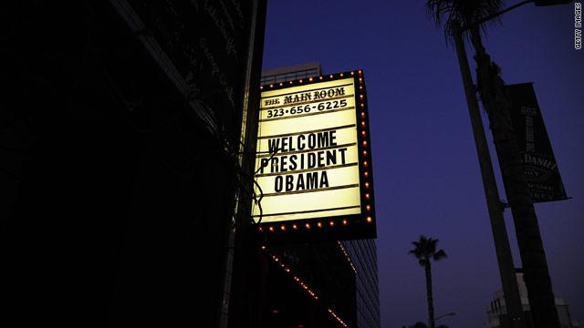 Obama's glitzy guest list