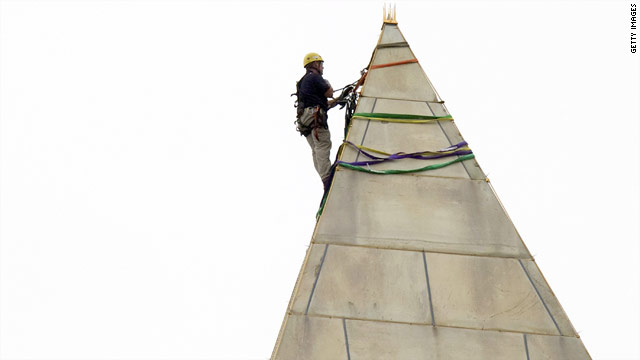 Engineers to rappel down Washington Monument