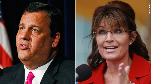 No trick: Christie, Palin face Halloween deadline