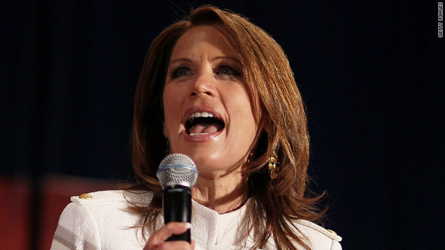 Bachmann urges Christians not to 'settle'