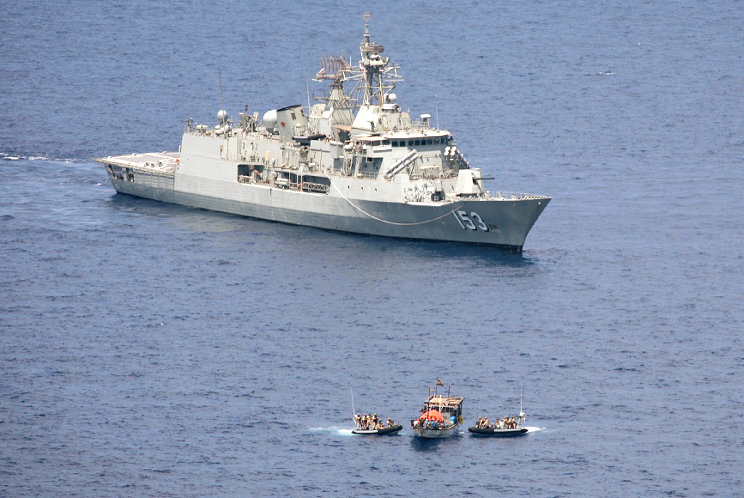 A Top Navy officer warns piracy may spill over into terrorism
