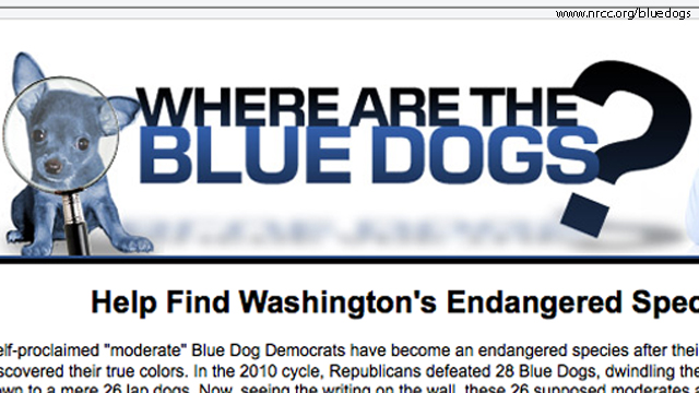 NRCC tracks Blue Dogs