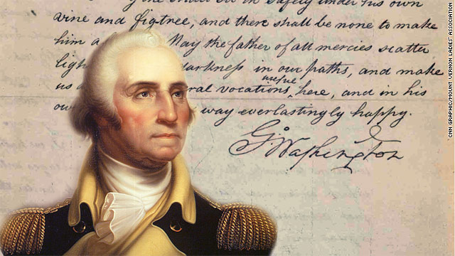 A letters journey, from founding father to religious question