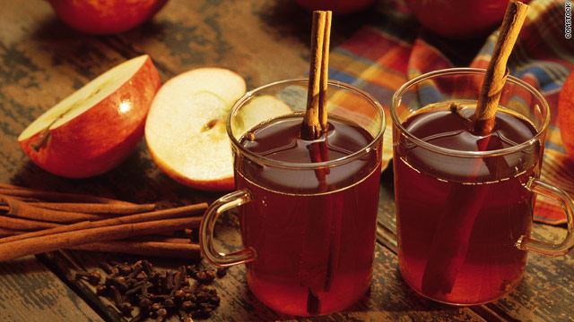 Breakfast buffet: National mulled apple cider day