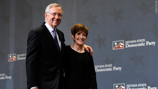 Sen. Reid&#039;s wife diagnosed with cancer