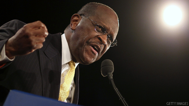 Cain calls name of Perry hunting camp 'very insensitive'