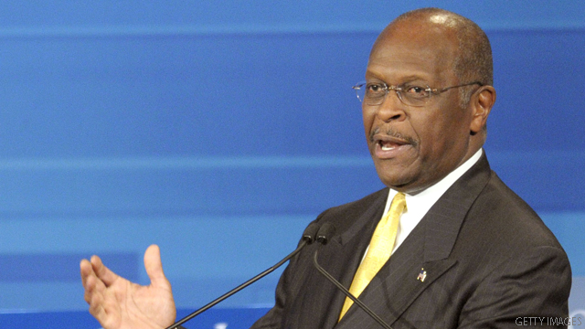 Hispanic caucus chairman rips Cain&#039;s border fence &quot;joke&quot;