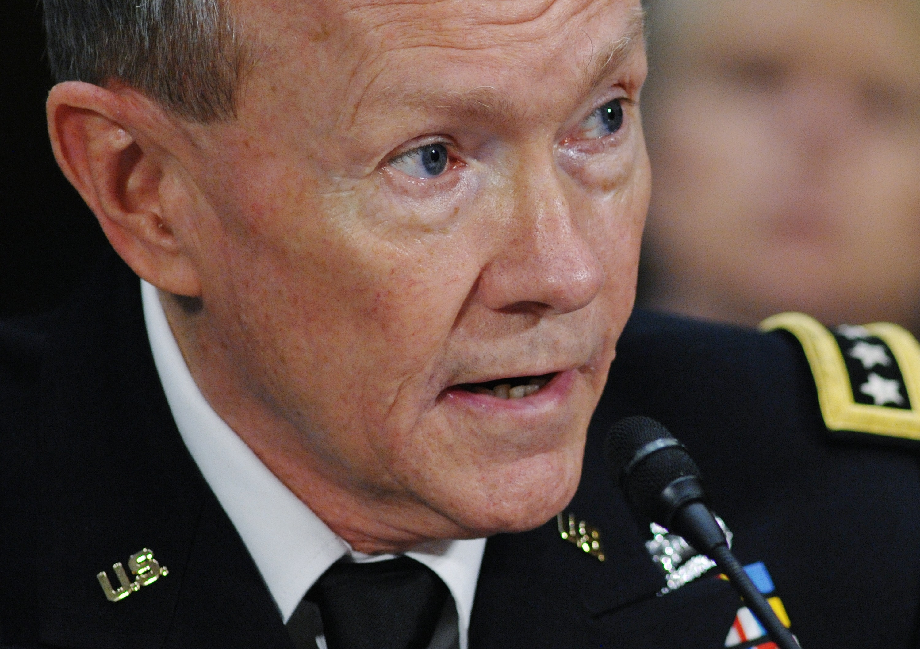 The new U.S. military chief: a plain spoken man