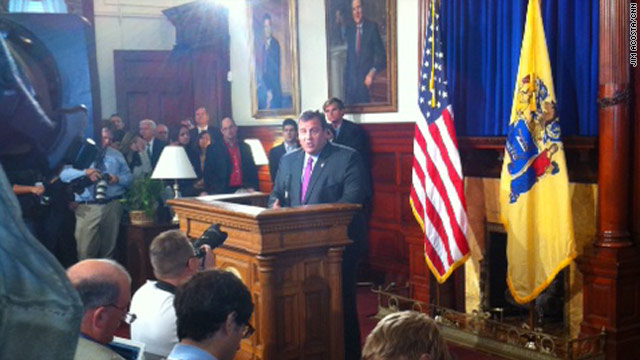 Christie: 'Now is not my time'