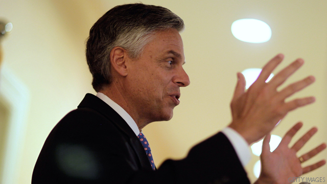 Huntsman to give foreign policy address