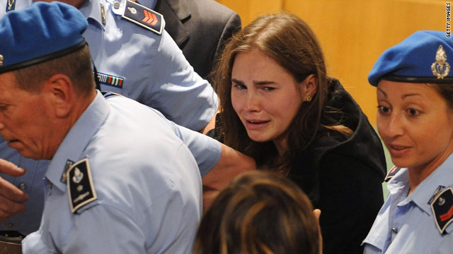 Amanda Knox was cleared Monday in the murder of her roommate in Italy ...