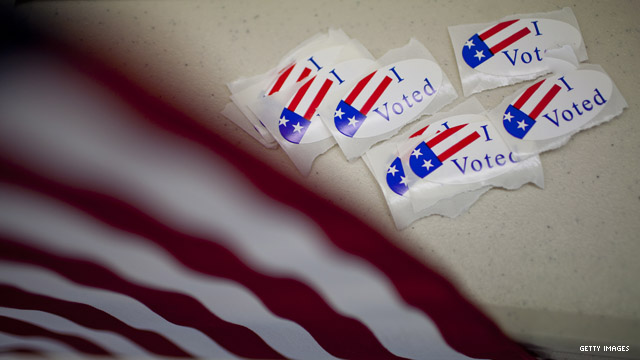 Poll: Voters split over Republicans, Democrats in 2014