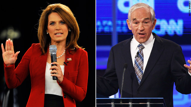 Rep. Bachmann, Rep. Paul juggle House votes, presidential campaigns