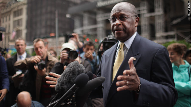 Cain: Not rich? No job? Blame yourself