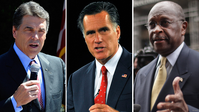 New polls: Cain up, Perry down, Romney steady