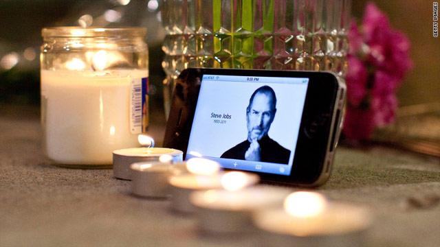 El mundo llora la muerte de Steve Jobs