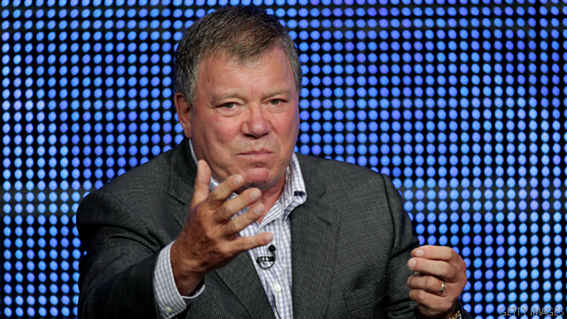 William Shatner's 'Armageddon' warning to prez candidates