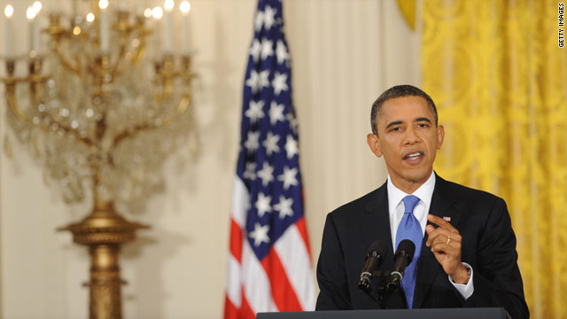 Live blog of President Obama's press conference on jobs
