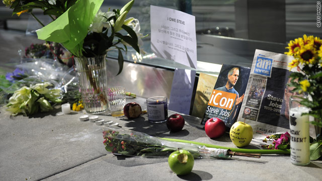 World mourns, pays tribute to Steve Jobs