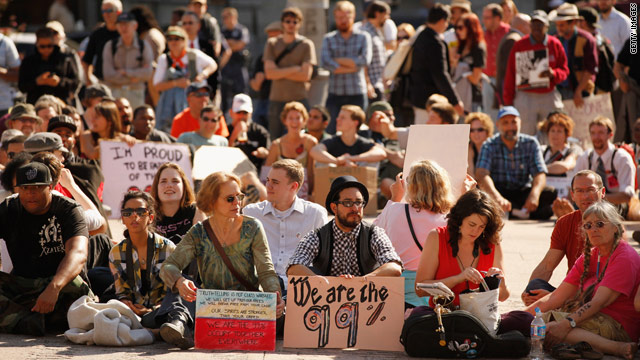 Occupy Wall Street: The tea party of the left?