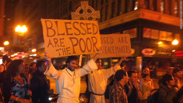 My Take: Occupy Wall Street looks like church to me