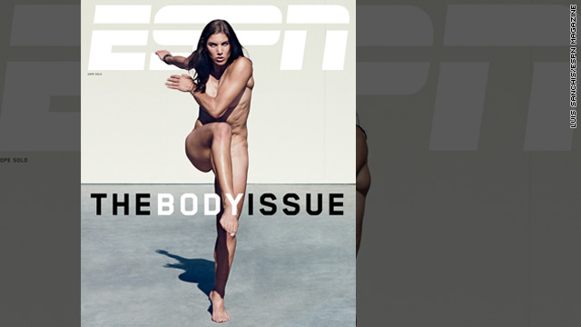 Hope Solo strips down for ESPN's 'Body Issue'