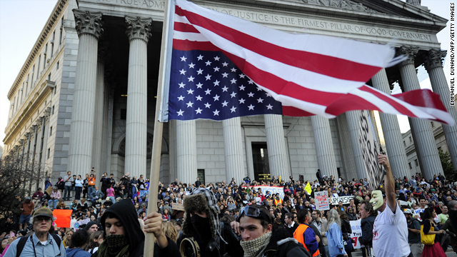 Are the protests spreading across the U.S. the sign of an 'American Spring'?