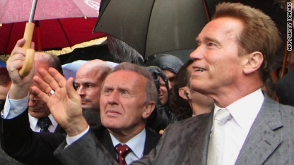 Schwarzenegger inaugurates museum in Austria