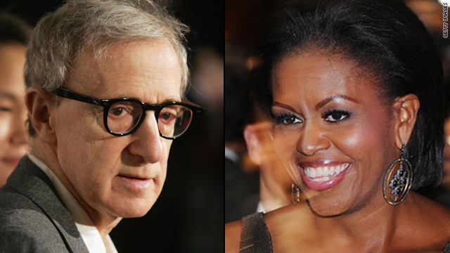 Woody Allen: 'I'd cast Michelle Obama'