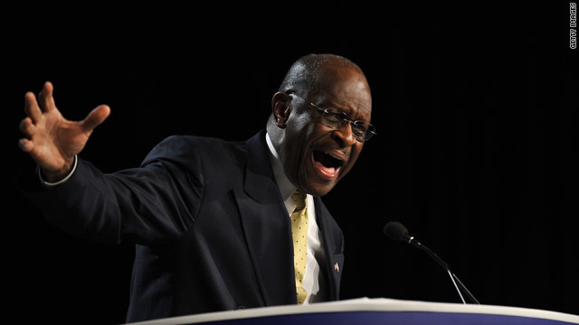 Cain relishes 'top tier' status in speech