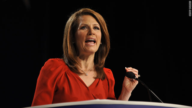Don't settle for a moderate, Bachmann urges voters